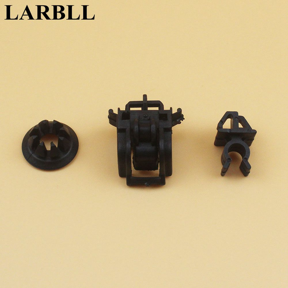 3 sztuk/zestaw uchwyt pręty otwieracz pobyt przelotka klipy 90602-S84-A01 dla Honda Accord Pilot Odyssey Fit RB1 90601-S84-A01