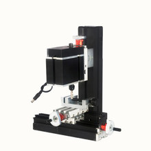 1PC DIY Miniature Metal Six-axis Drilling And Mill Machine 60W Low-power Teaching Model High-Precision Production DIY Tool 12V(China)