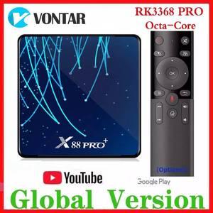 Image 1 - RK3368 PRO Octa Core TV BOX Android 9.0 4 go RAM MAX 128 go ROM TV Box USB3.0 Google Assistant vocal lecteur multimédia 32G/64G
