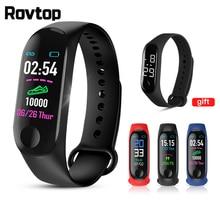 M3 Plus Smart Wristband M3Plus Bluetooth Smartband Fitness Tracker Heart Rate Activity Smart Warch with 50M Waterproof Wristband