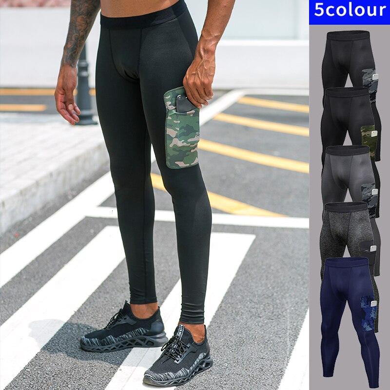 Men Compression Base Layer Skin Tight Long Pants running Thermal Legging Cycling