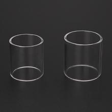 ECT czysta szklana rurka z pyreksu zamiennik dla iJust 2 iJust S Atomizer elektroniczny papieros e-papieros zbiornik O30 dropship tanie tanio NoEnName_Null CN (pochodzenie) Probówki