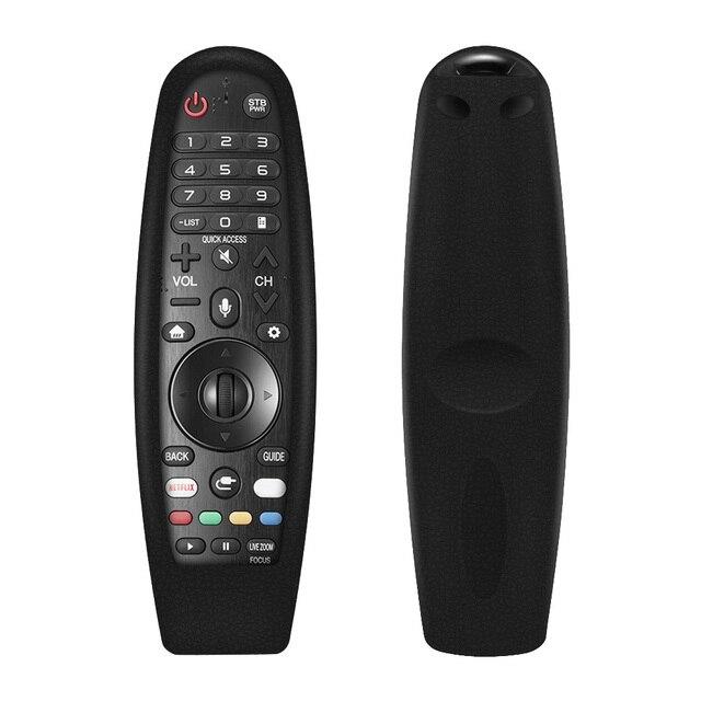 Pour LG Smart TV télécommande AN MR600 magique télécommande cas SIKAI Smart OLED TV protection Silicone couvertures