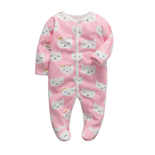 jumpsuit newborn baby clothing infant romper long sleeve 3 6 9 12 months babies pajama cotton baby girls boys clothes newborn baby boys girls romper cartoon print cotton long sleeve jumpsuit infant clothing pajamas toddler baby clothes outfits