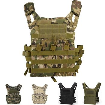 Tactical Armor JPC Molle Assault Plate Carrier Vest Military Equipment Army Hunting Outdoor Paintball Airsoft Camouflage Vest military equipment tactical vest airsoft hunting molle vest for outdoor wargame army training paintball combat protective vest