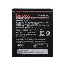 цена на New Original BL259 For Lenovo Vibe K5 / K5 Plus / A6020 A6020A40 A6020A46 2750mAh Real Capacity Replacement Phone Batteria