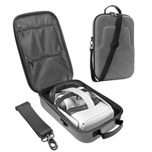 Twarda torba podróżna EVA torba do przechowywania dla Oculus Quest/Oculus Quest 2 VR gamingowy zestaw słuchawkowy i kontrolery akcesoria