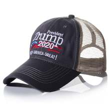 Бейсбольная Кепка с вышивкой сетчатая шляпа головной убор унисекс