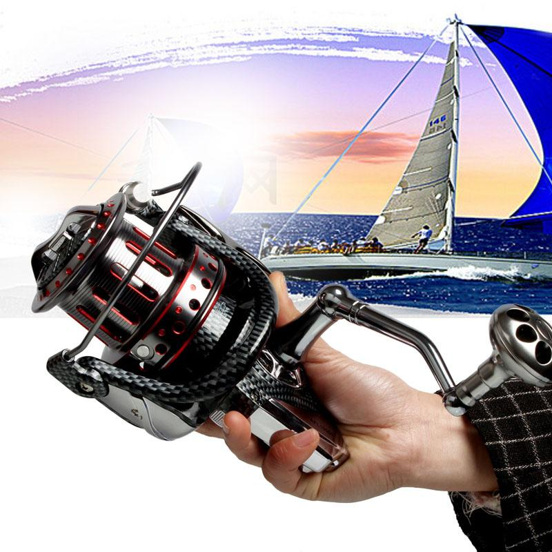 Lieyuwang 5 species 11+1BB Trolling Reel Cheapest Spinning Fishing 1000-12000 Ball Bearing Reels  carretilhas de pesca