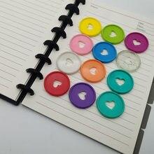 100 pces 35mm cogumelo buraco disco de ligação para livros discos de ligação planejador de disco anéis de ligação de plástico folha solta acessórios de escritório