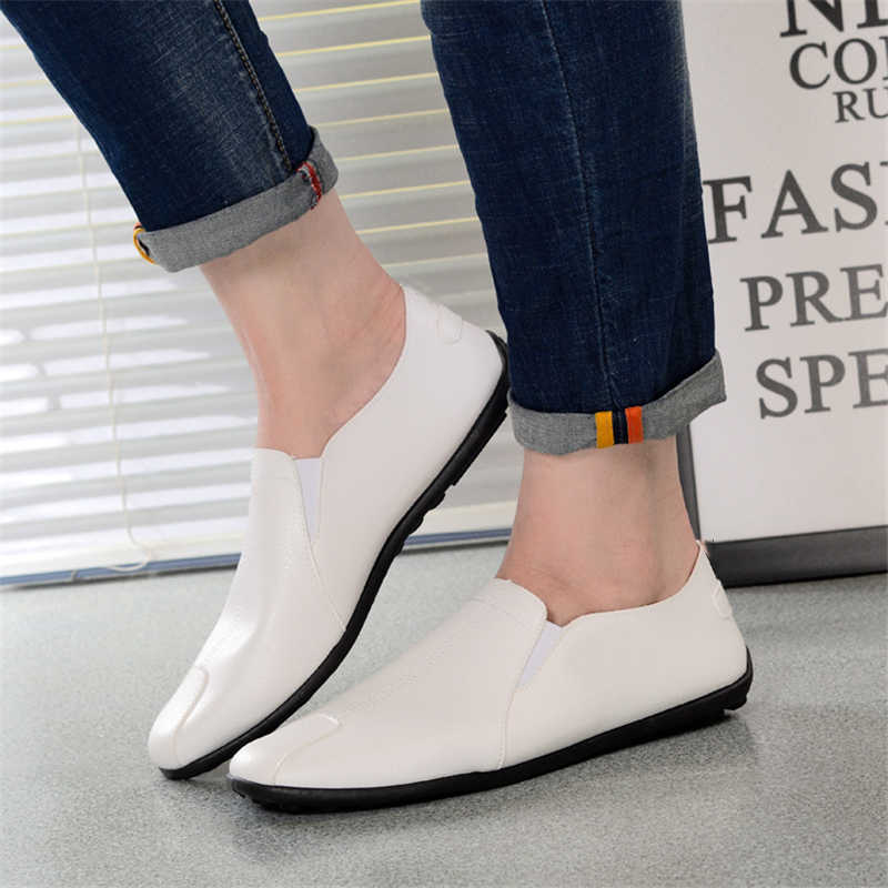 2019 New fashion Men Flats Light Breathable Shoes Shallow Casual Shoes Men Loafers Moccasins Man Sneakers Peas Zapatos Hombre