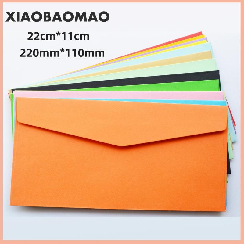 22cm 11cm 10PCs Vintage Western Envelope Creative Glossy Fire Envelope Colored Invitation Envelope School Office Supplies