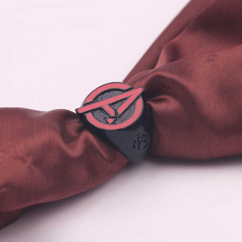 Capitán Marvel anillo vengadores anillos tamaño 8-12 Thor martillo Thanos arma Infinity Gauntlet Iron man Metal para hombres regalo para las mujeres