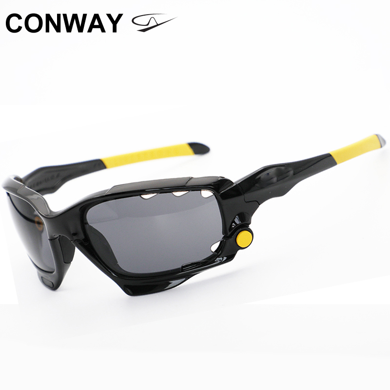 Conway Large Sport Sunglasses Polarized Mountain Goggles Outdoor Eyewear Great For Hiking Fishing Basketball 04203