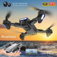 K3 motore Brushless Quadcopter fotografia aerea Drone GPS RC aereo con telecamera ESC seguimi tiro elicottero telecomandato