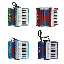 IRIN 17 Key 8 Bass Piano Accordion Musical Instrument for Performance