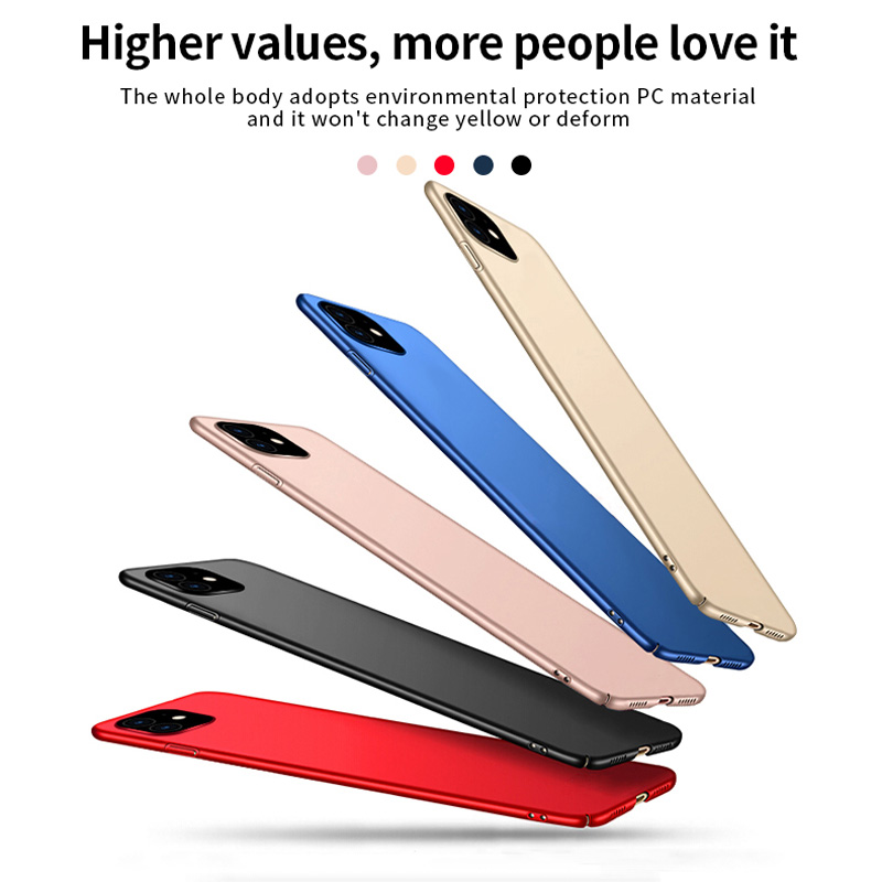 Fashion Ultra Thin Phone Case Oppselve For iPhone 11 11 Pro 11 Pro Max Hard PC Cover For iPhone X Xs Xs Max Xr Coque Fundas in Fitted Cases from Cellphones Telecommunications