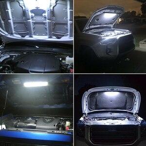 Image 5 - רצועת עם מתג אוטומטי אביזרי רכב לבן משאיות תחת הוד LED אור ערכת מנוע גבוהה בהירות בדיקה עמיד למים