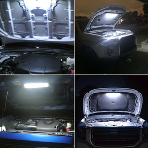 Image 5 - Strip With Automatic Switch Car Accessories White Trucks Under Hood LED Light Kit Engine High Brightness Inspection Waterproof