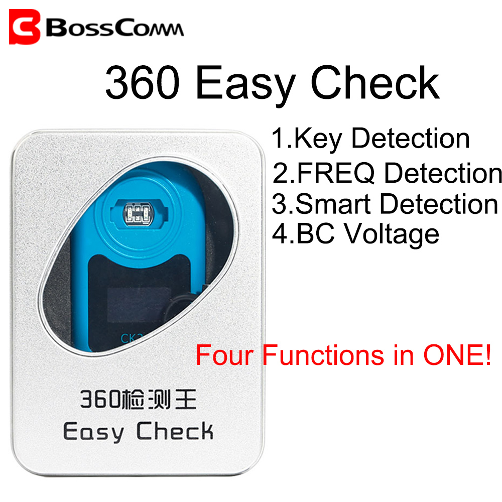 Easy 360 Master for Car Fob Chip ID Car Keyless <font><b>Remote</b></font> Frequency <font><b>Tester</b></font> Smart <font><b>Key</b></font> BC Voltage Checker image
