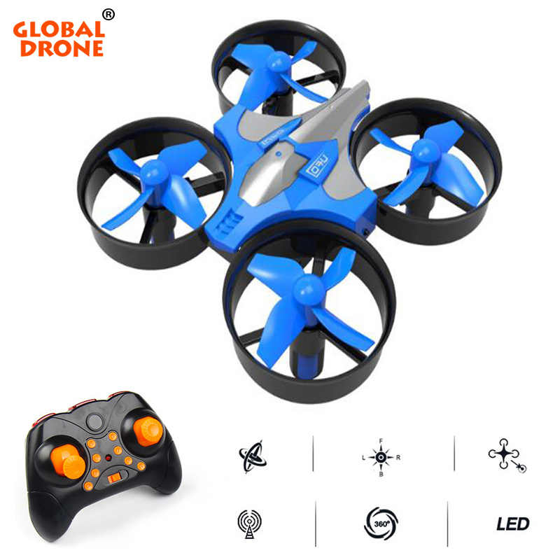 Global Drone 4CH 6 Axis Gyro RC Helicopter Quadrocopter Micro Drone Headless Mode Pocket Dron Toys For Boys Mini Drone