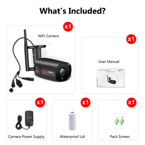 Image 5 - ANRAN 1080Pกล้องIP Wifi HDอินฟราเรดNight Vision Two Way Audioไร้สายการเฝ้าระวังวิดีโอกล้อง