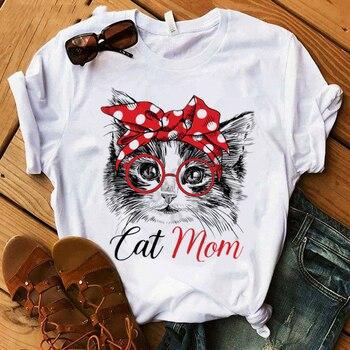 Cat Mom Women's T-Shirt  1