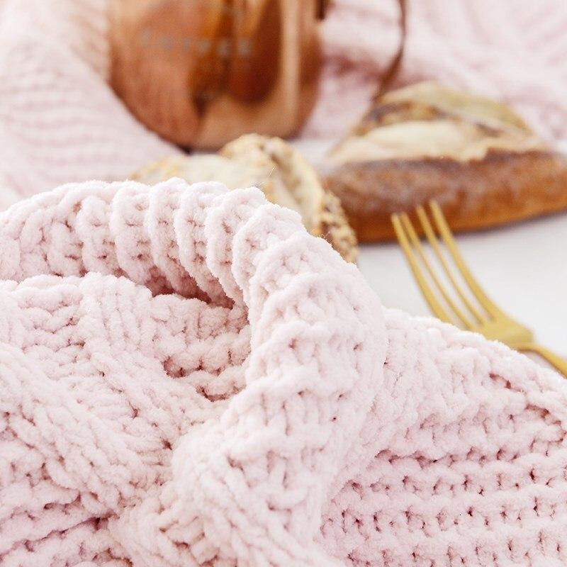 2019 algodón para chico recién nacido cómoda cobija invierno suave mantener caliente sofá/Manta para bebé niña Cobija para baño de franela - 4