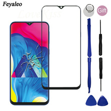 Voor Samsung Galaxy A10 A20 A30 A40 A50 A60 A70 Voorpaneel A10S A20S A30S A50S Touch Screen Buitenste Glas niet Lcd Display Sensor