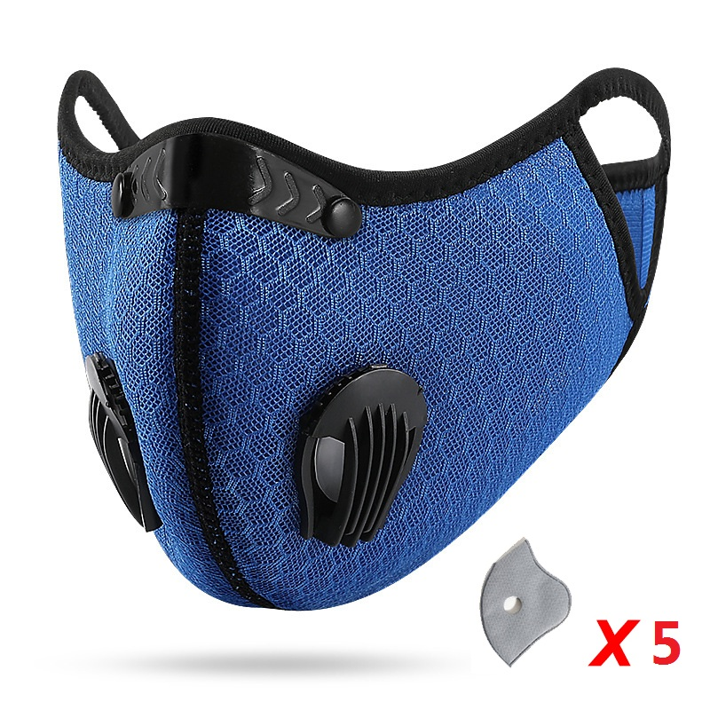 Blue 5PC Filter