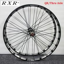 "RXR الكربون محور متب العجلات 26/27.5/29 ""دراجة هوائية جبلية مكبح قرصي 5 محامل دراجة عجلة مجموعات 7 11Speed من خلال المحور/QR متب العجلات"