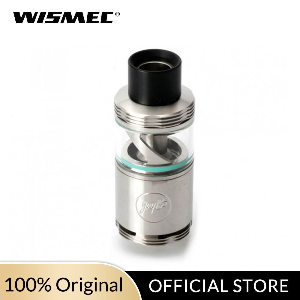 Russian Warehouse 22mm Diameter Original Wismec Cylin RTA Tank With 3.5ml Top-filling Airflow Innovative Notch Coil E-Cigarette