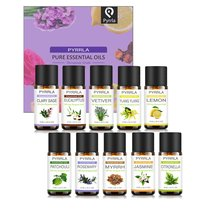 Pyrrla 8ml 10pcs Pure Essential Oils Gift Set Humidifier Aro