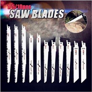 10pcs Reciprocating Saw Blades for Reciprocating Saw Metal Cutting Jig Saw Blades Reciprocating Saw Power Tools Accessories