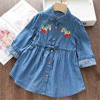 H348dc307b9d74e5c8d1412e31b5809ebv Bear Leader Girls Dress 2019 New Autumn Casual Ruffles A-Line Striped Full Sleeve Kids Dress For 3T-7T