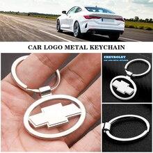 3D металлический брелок для автомобильных ключей, плетеная веревка брелок автомобиля Стилизация брелка для Chevrolet Cruze Captiva Lacetti Niva Тракс Onix акс...
