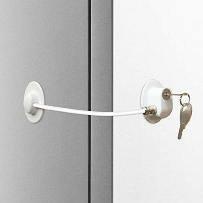 Children's Open Cabinet Anti-pinch Protection Lock Baby Safety Infant Window Security Lock