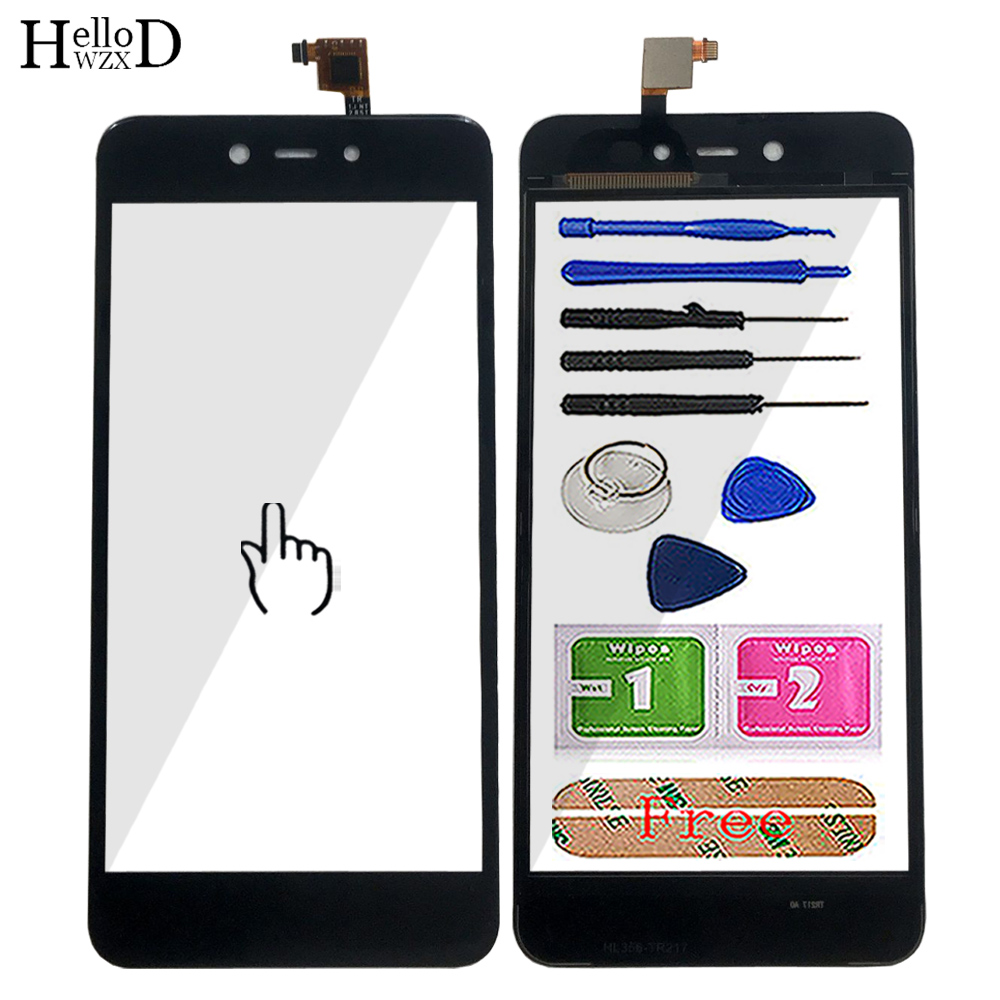 5.2'' Mobile Touch Screen For BQ 5211 STRIKE (2018) Digitizer Panel Sensor Lens Front Glass Touch Screen 3M Sticker Tools