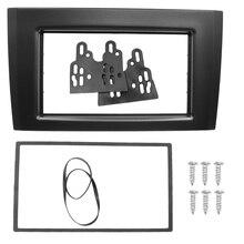 2 דין רדיו Fascia עבור וולוו XC90 2002 + דאש התקנה סטריאו פנל CD Trim ערכת פנים מסגרת לוח