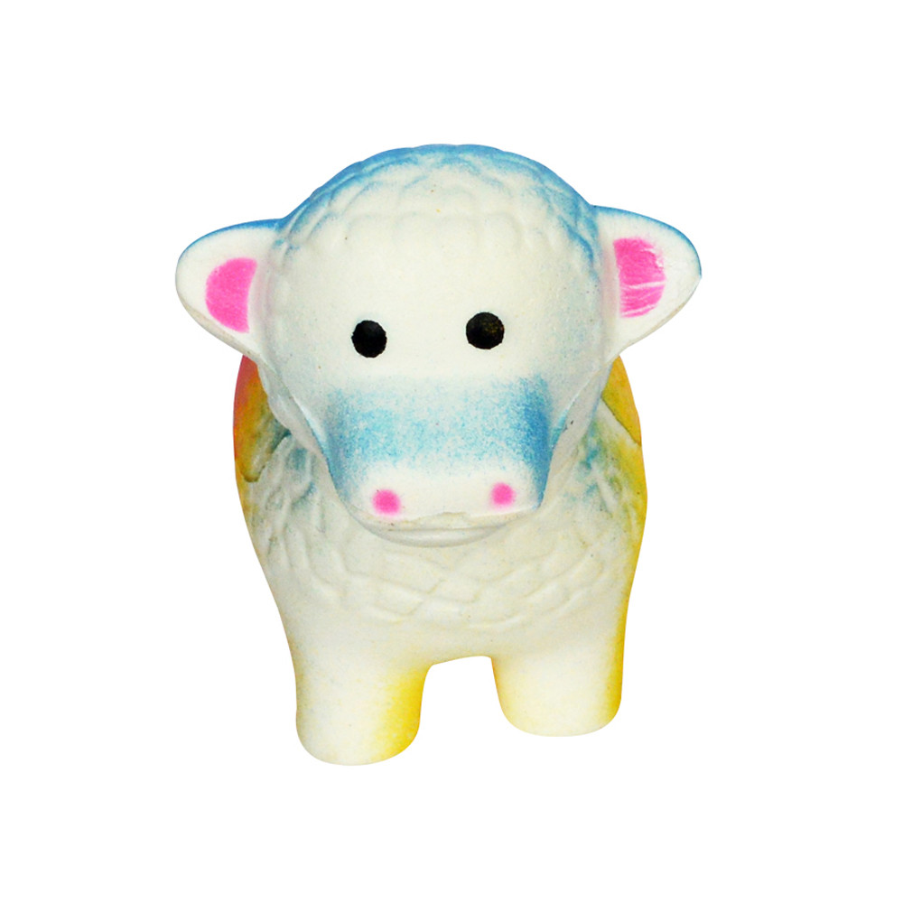 Antistress 1PCS Squeeze Spotted Bread Scented Slow Rising Soft Little Sheep Stress Reliever Toys Funny Gift Toy L107
