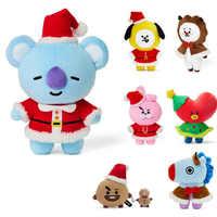 Peluche Kawaii de estrella Kpop para niños, Peluche de Animal, cojín de muñeco de Peluche, conejo, Koala, corazón, perro, oveja, caballo, regalo de Navidad