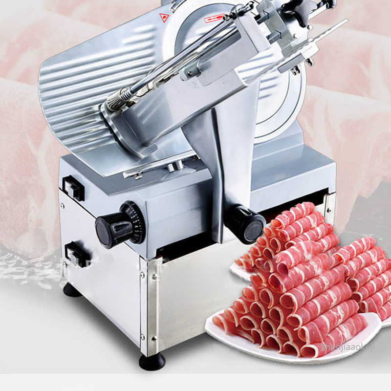 Commercial Meat Slicer Automatic Slicing Machine HB-300B  Frozen Meat/mutton/beef Cutting Machine Stainless Steel Cutter 230v