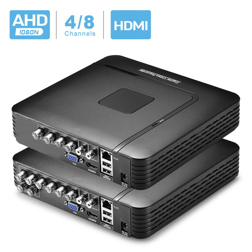 BESDER 4 Channel 8 Channel AHD DVR Surveillance Security CCTV Recorder DVR 4CH 720P / 8CH 1080N Hybrid DVR For Analog AHD IP
