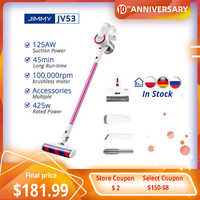 [PL Stock] JIMMY JV53 Handheld Cordless Vacuum Cleaner Global Version 425W Powerful Suction Lightweight 20000Pa