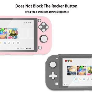 Image 2 - Commutateur Lite coque de étui de protection coloré mignon PC couverture rigide coque de poignée arrière pour Nintend Switch Lite accessoires de Console de jeu