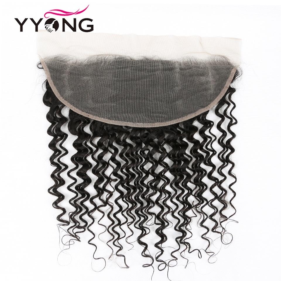 YYong Deep Wave HD Transparent Lace Frontal With Bundles 30inch    Bundles With 13X4 Lace Frontal Closure 5