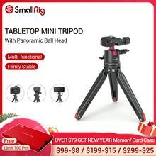 SmallRig Mini trípode Universal de sobremesa con cabezal de bola panorámica para cámaras compactas DSLRs/sin espejo/trípode para Smartphones 2664