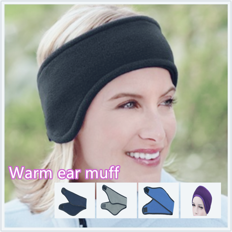 Warm Earmuffs Unisex Women Men Ear Warmer Winter Head Band Ski Ear Muff Headband Hair Band  Ear Warmer Winter Accessories