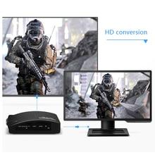 купить Composite AV S-Video to VGA Converter Box PC Laptop to TV Projector Video Converter Adapter  GV99 онлайн