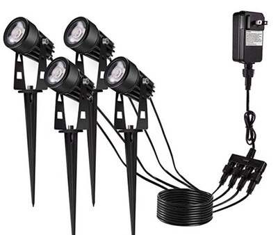 LED Pin Light Lawn Light One Dragging Four Spotlight LED Floodlight Led One to Six Courtyard Lights One Dragging Four Grass 2